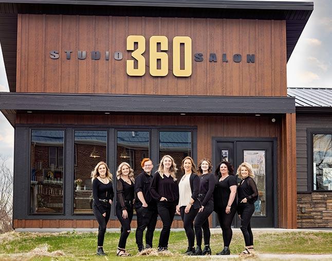 Studio 360 Salon Team